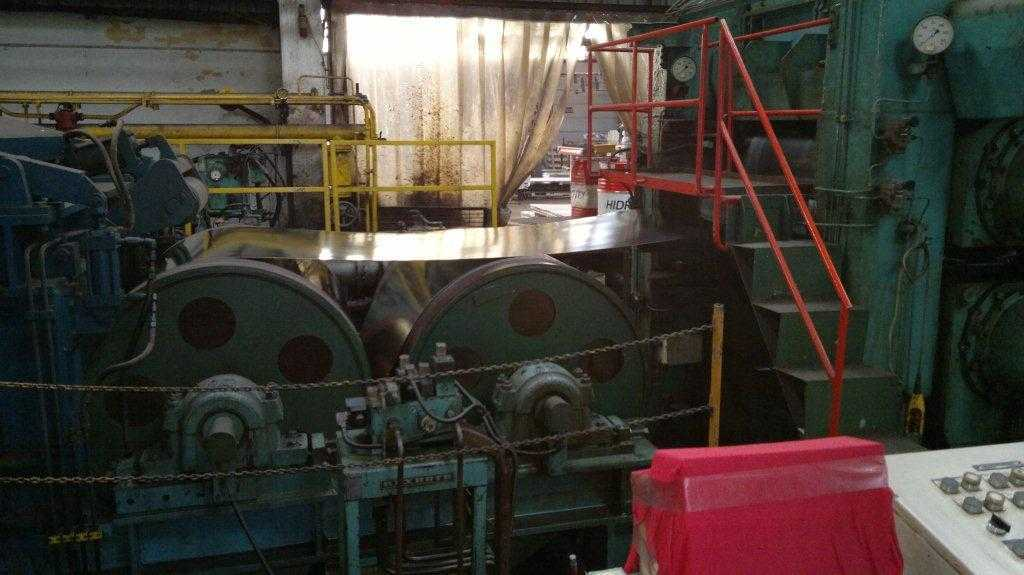COIL TENSION LEVELING LINE, BWG