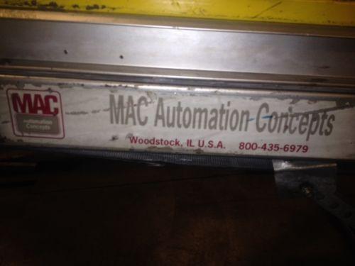 Parts Conveyor MAC Automation Concepts