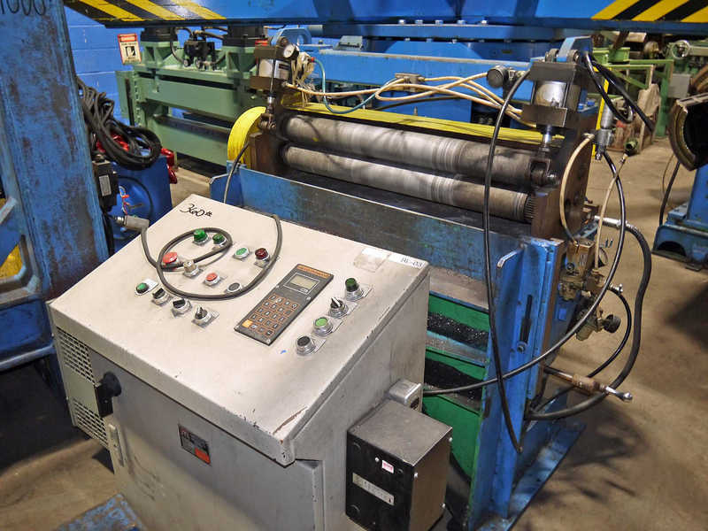 """Coil Roll Feed, Mecon, 32"""""""