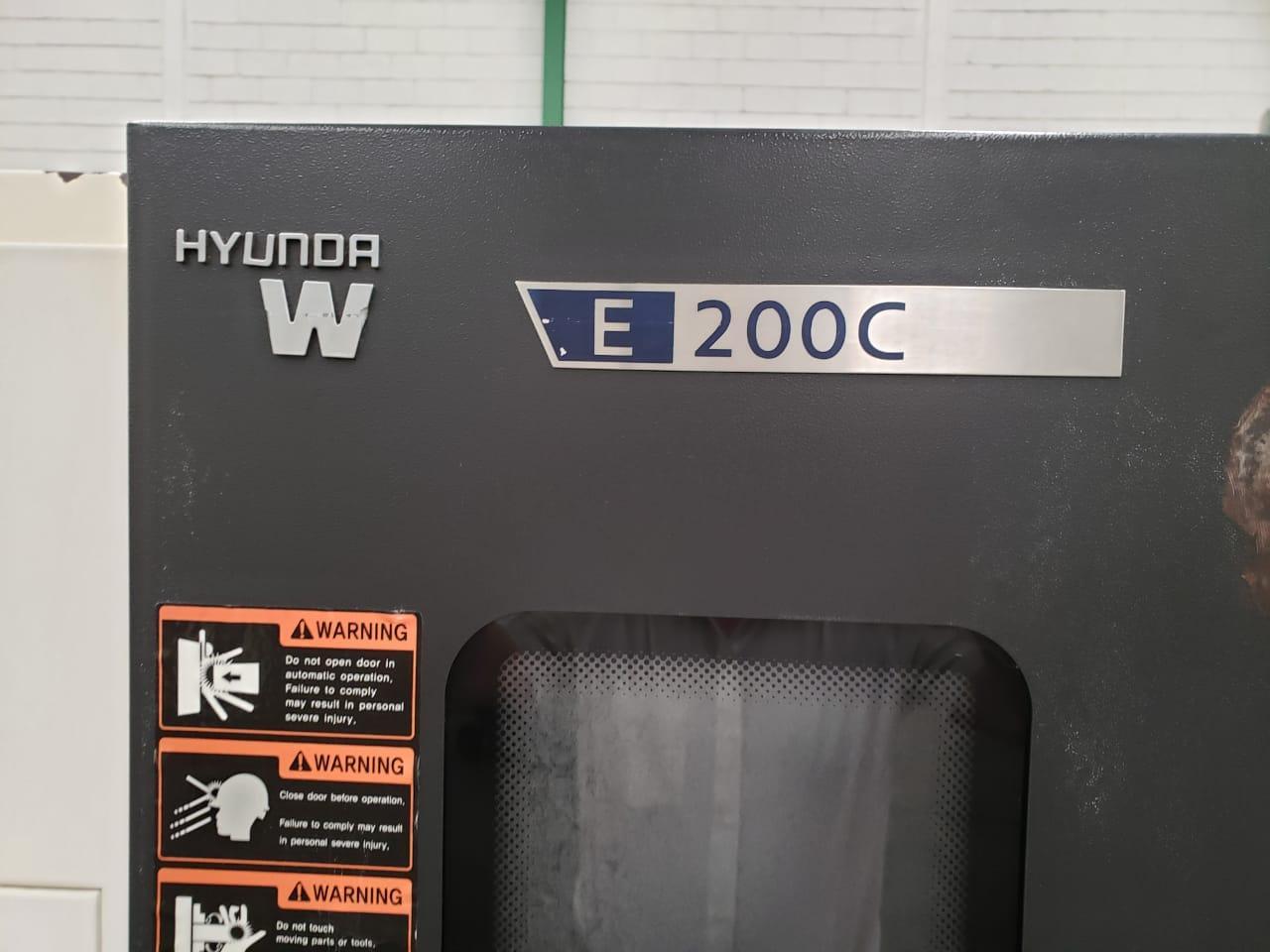 2013 Hyundai Wia E200C - CNC Horizontal Lathe