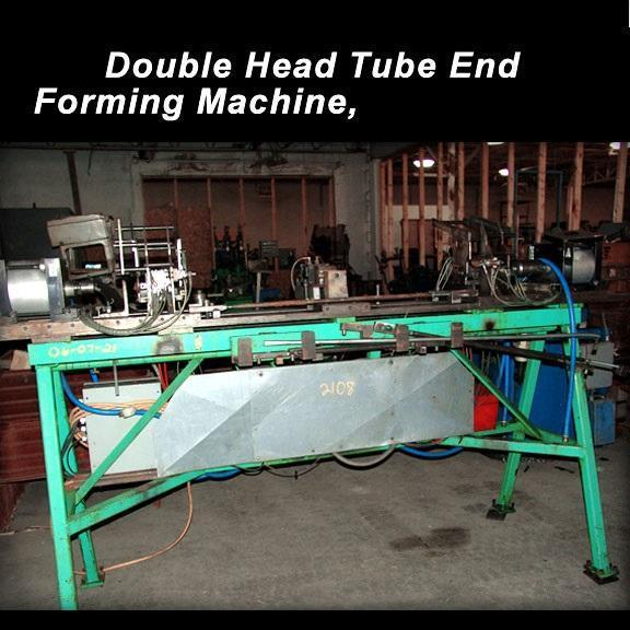 "1"" 25.4 mm Double Head Tube End Forming Machine"