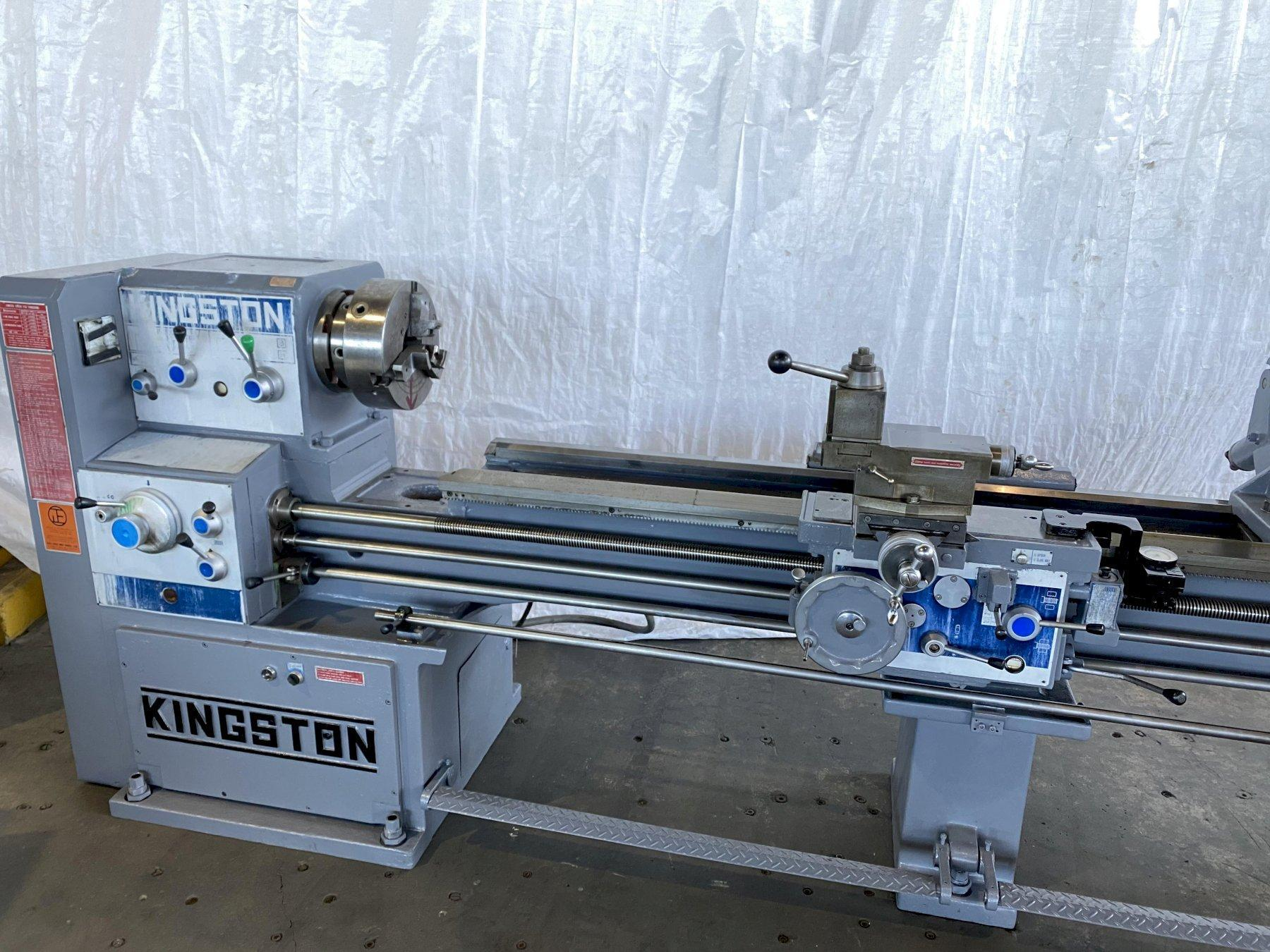 "21"" X 102"" KINGSTON HL2500 ENGINE LATHE. STOCK # 0847820"