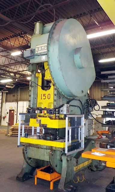 pp150usx, USI Clearing, , 150-Ton USI Clearing OBI Press,