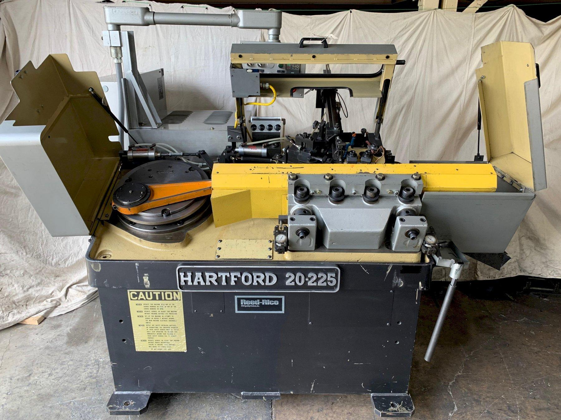 #20 Hartford Model 20-225 High Speed Thread Roller with Feeder Bowl & Stand