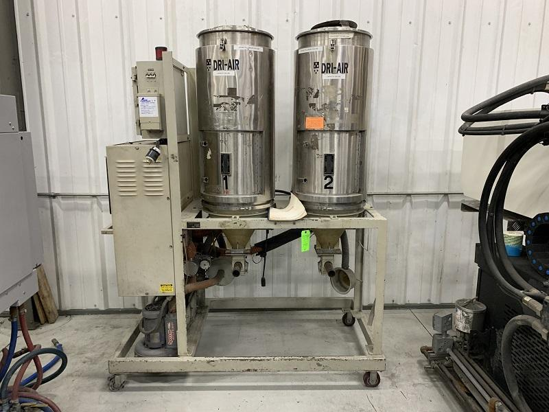 Dri-Air Used  A-75 PDII Drying System, Two (2) 250 lbs. Hoppers, 480V