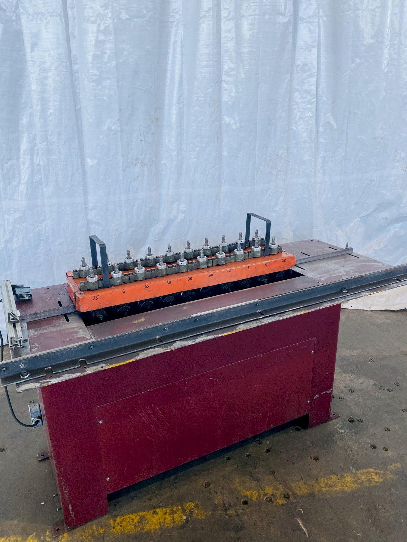 10 STAND FLAGLER MODEL H-2510  ROLLFORMER. STOCK # 0616020