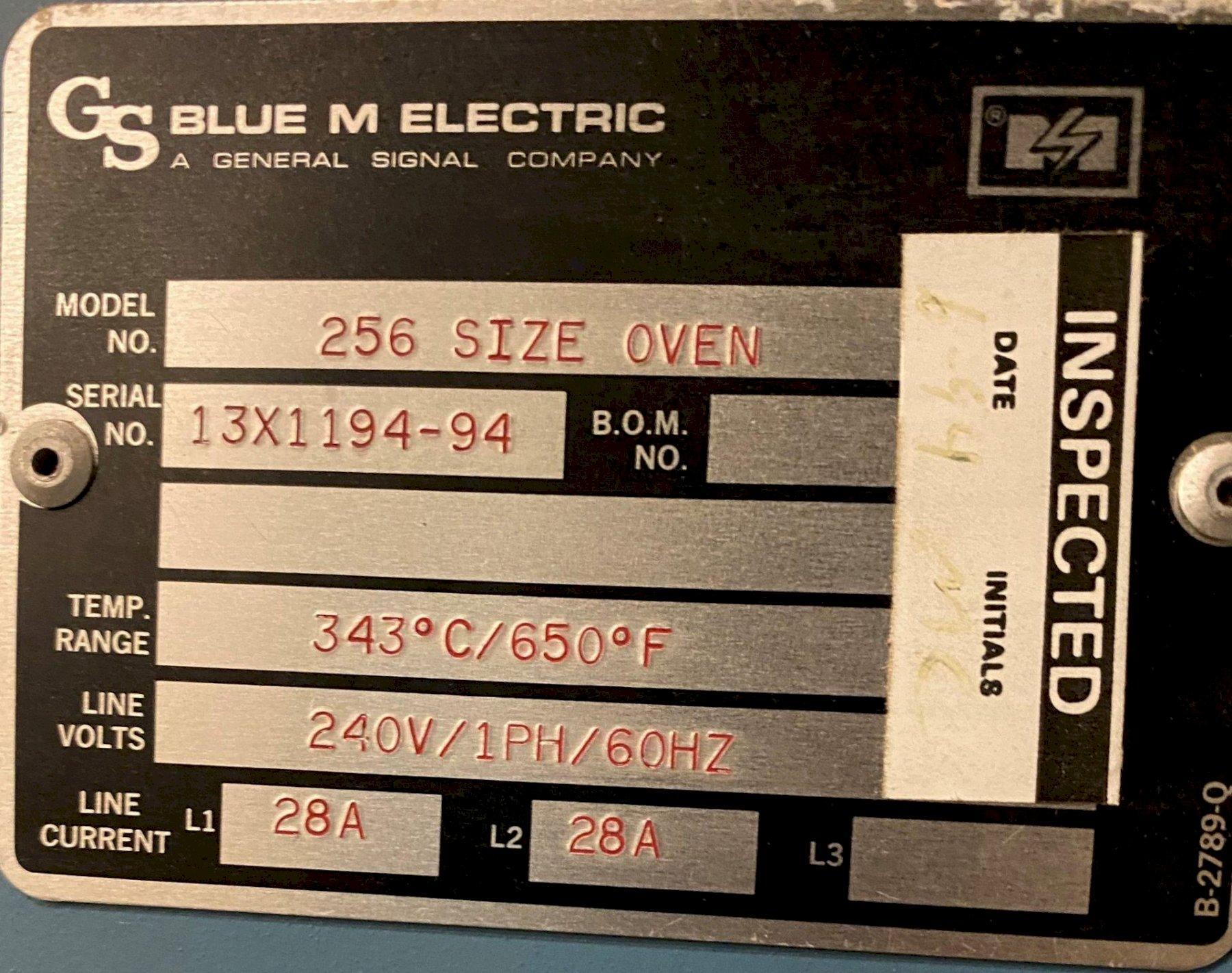 BLUM M OVEN: STOCK #73763