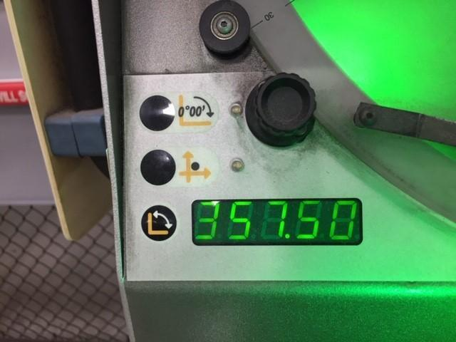 "14"" Tesa Scope 355H Optical Comparator, New 2006."
