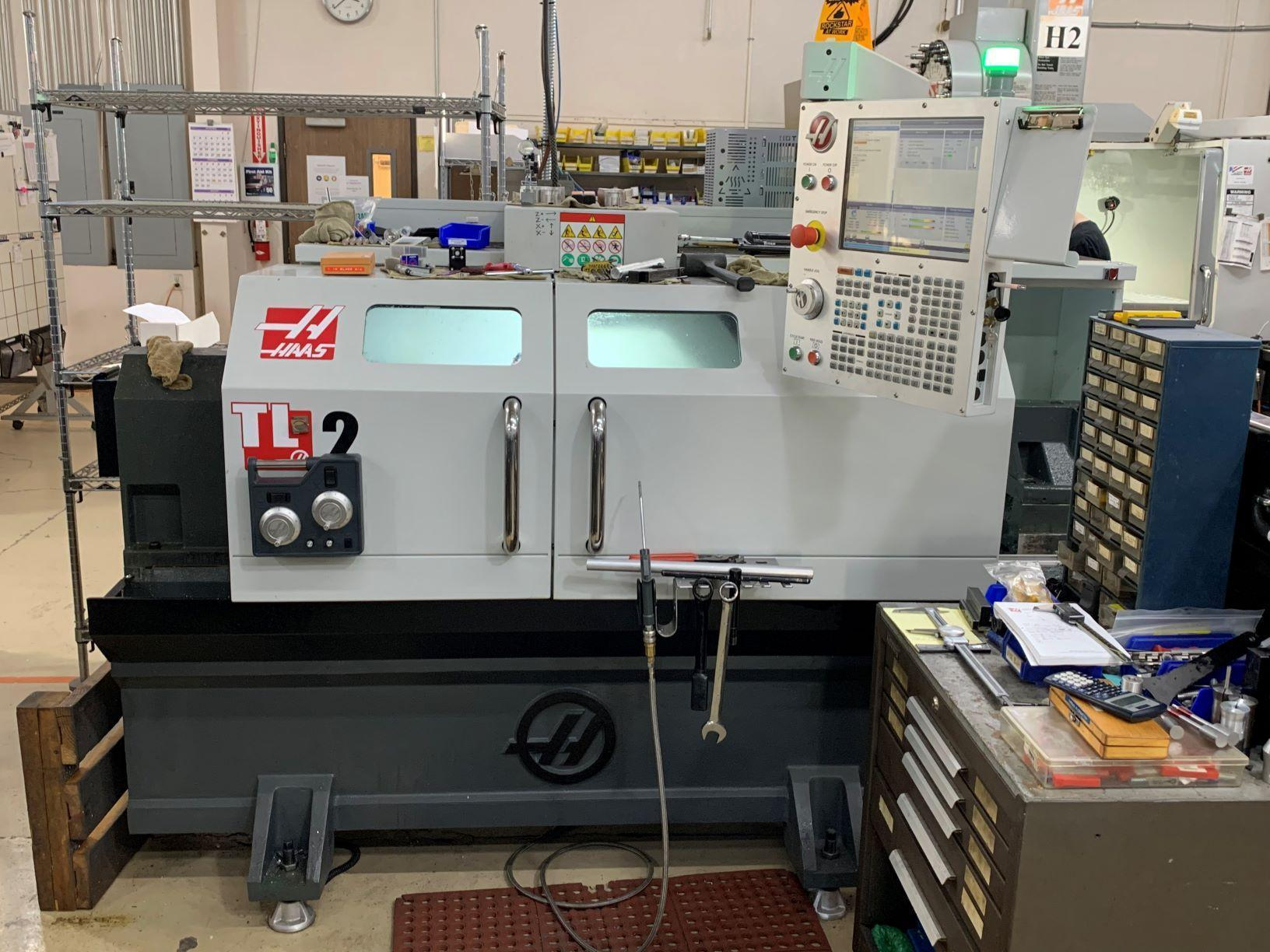 2018 Haas TL-2 CNC Lathe - Barely Used!