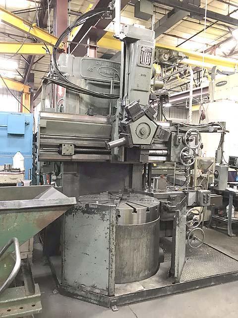 "42"" Bullard Vertical Boring Mill"