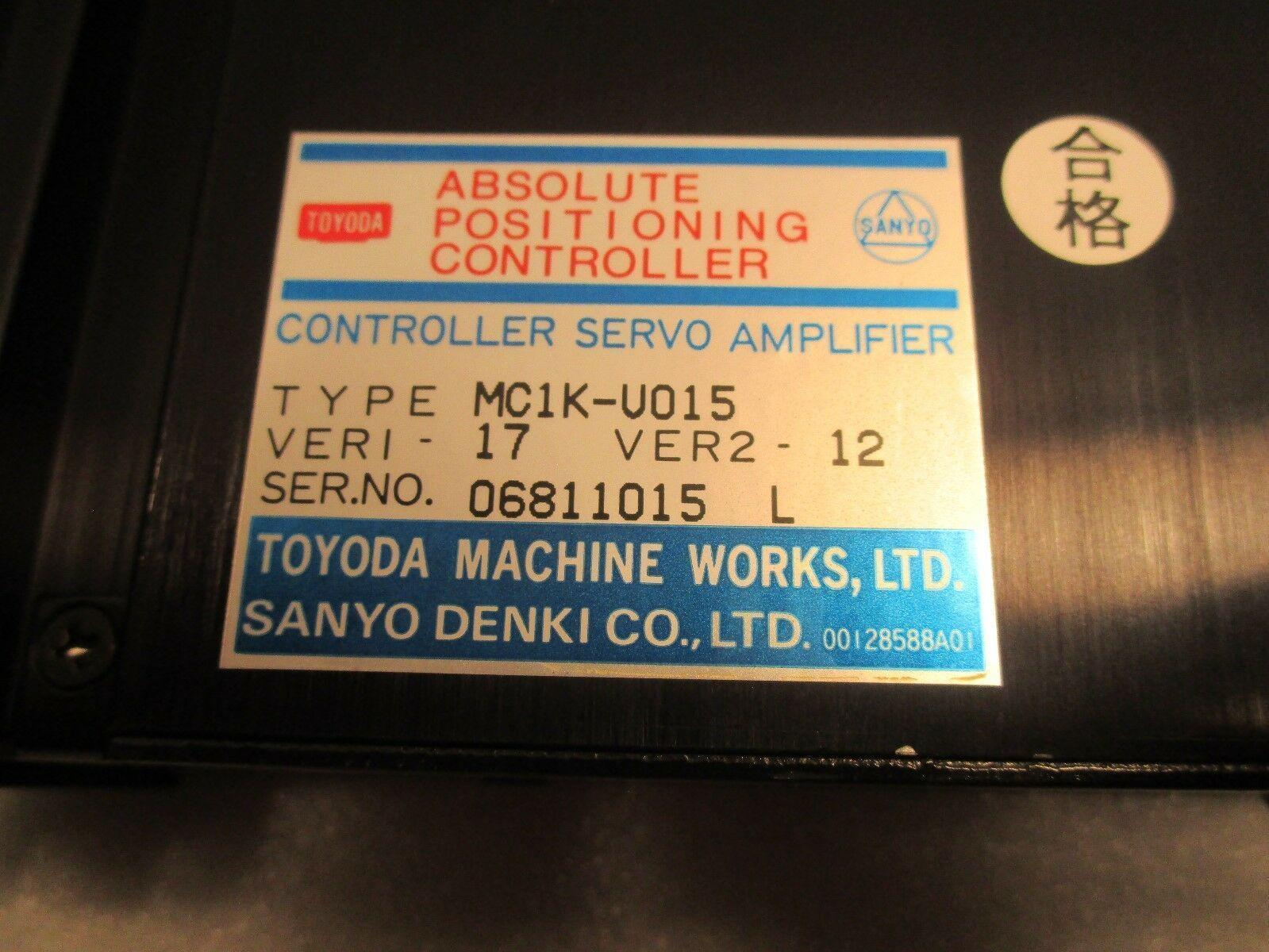 Toyoda Sanyo Denki Axis Drive Absolute Positioning Controller MC1K-U015
