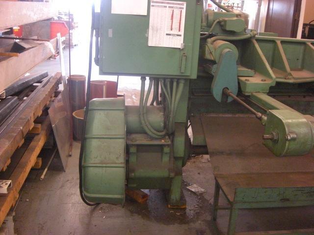 "10 Ga. x 52"" Wysong Power Squaring Shear No. 1052, Mech., 36"" FOPBG, Front Gauge, Sq. Arm, 5 HP, Clean"