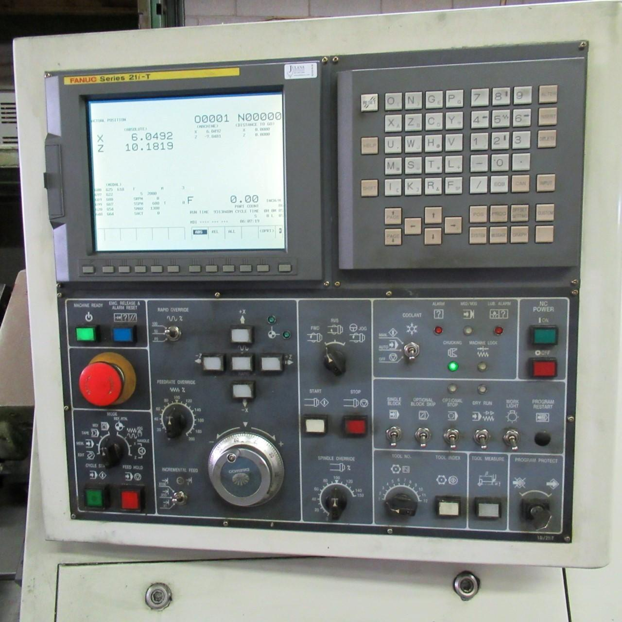 Daewoo PUMA-230C Turning Center **ONLY 7435 CUTTING HOURS**