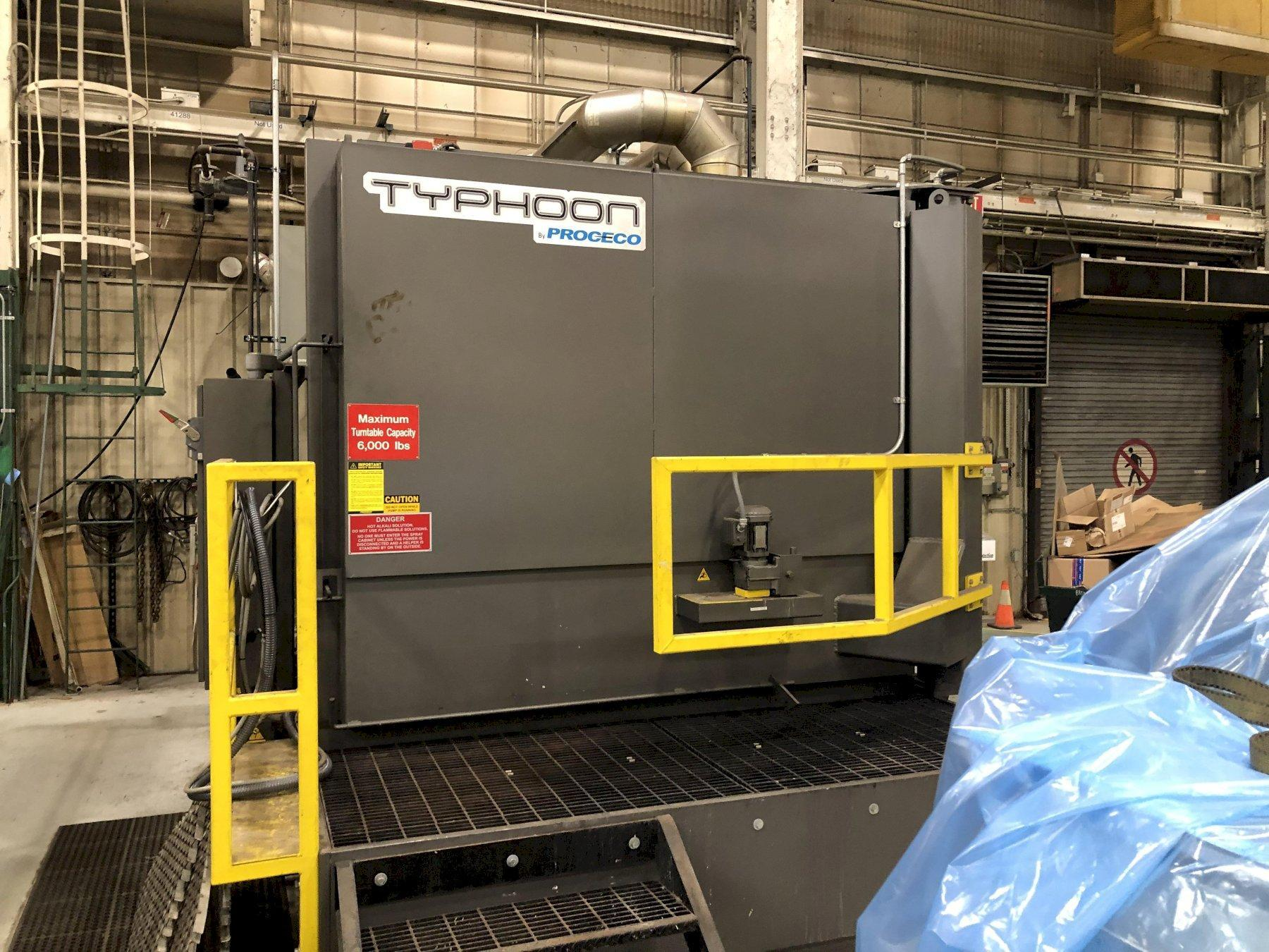"PROCECO HD75X60-G-6000-2 TABLE WASHER, NEW 2016, 75"" WIDE  X 60"" HIGH WORK PIECE, 6000 LB CAP., NATURAL GAS"