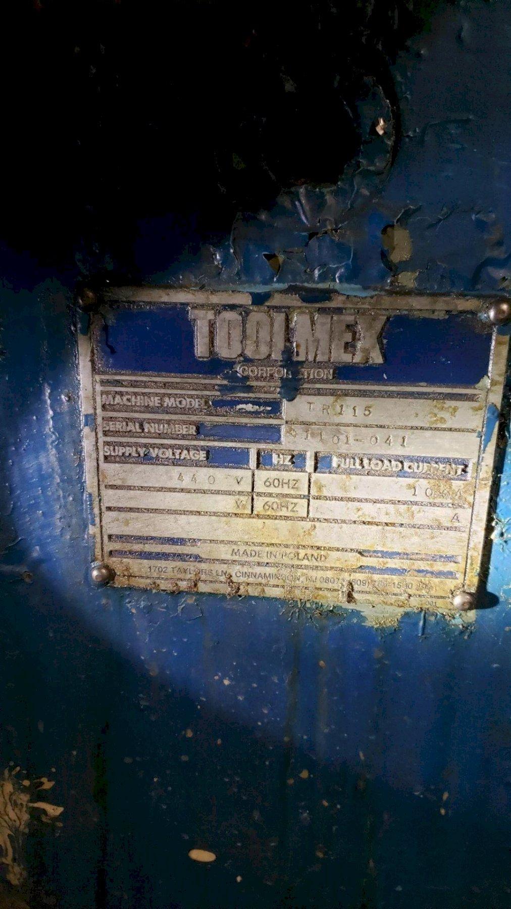"45"" X  324"" POREBA TR115 ENGINE LATHE. STOCK # 0418021"