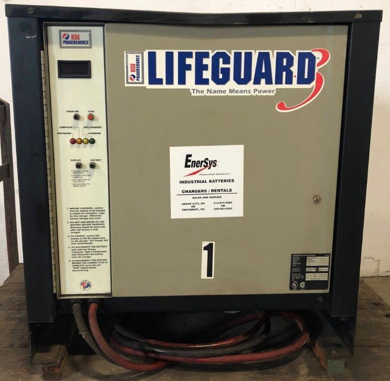 Lifeguard Battery Charger Model LG12-1050F3B, 24 Volt, 12 Cells, 3 Phase