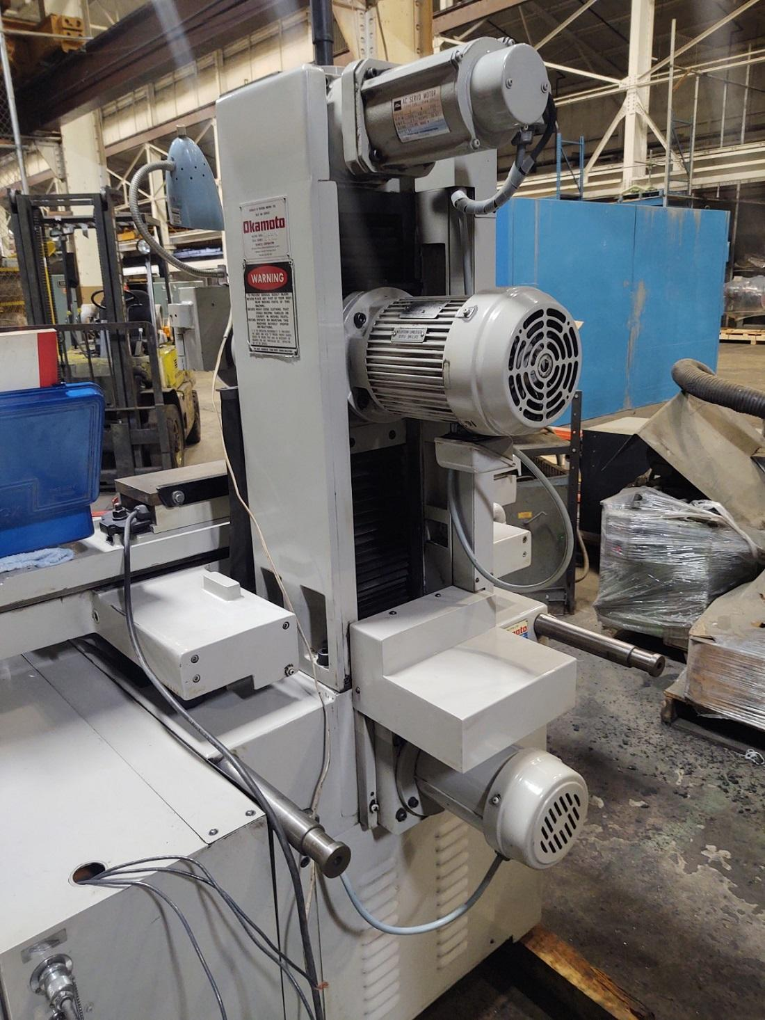 Okamoto 3 Axis Fully Automatic Hydraulic Surface Grinder Model ACC 6-18DX3