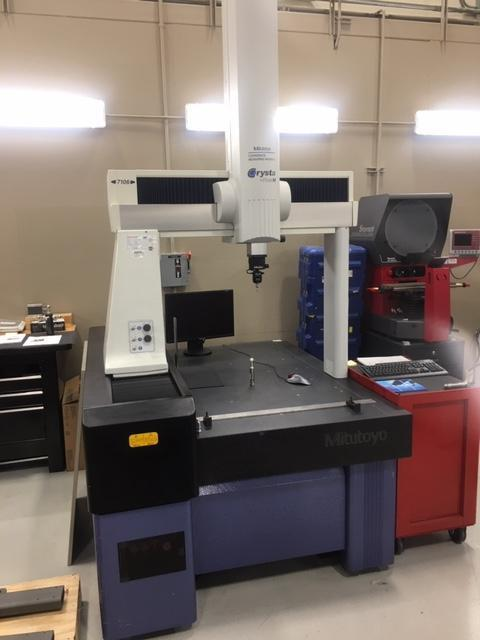 Mitutoyo Crysa-Plus M7106 Coordinate Measuring Machine (CMM)