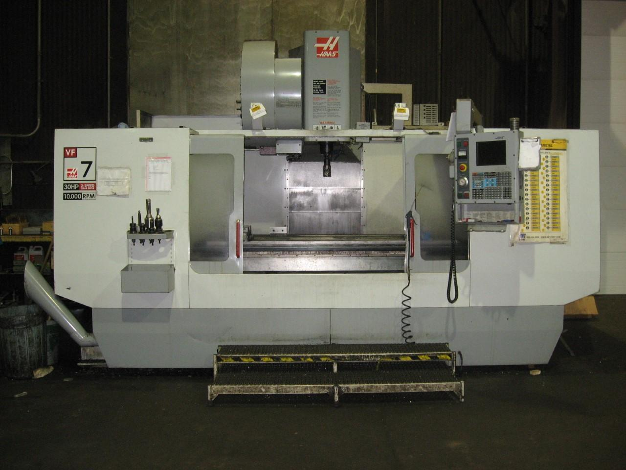 2003 HAAS VF-7 VERTICAL MACHINING CENTER