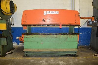 75 TON x 8' PROMECAM MODEL #RG-75-25 HYDRAULIC POWER PRESS BRAKE   Our stock number: 100030