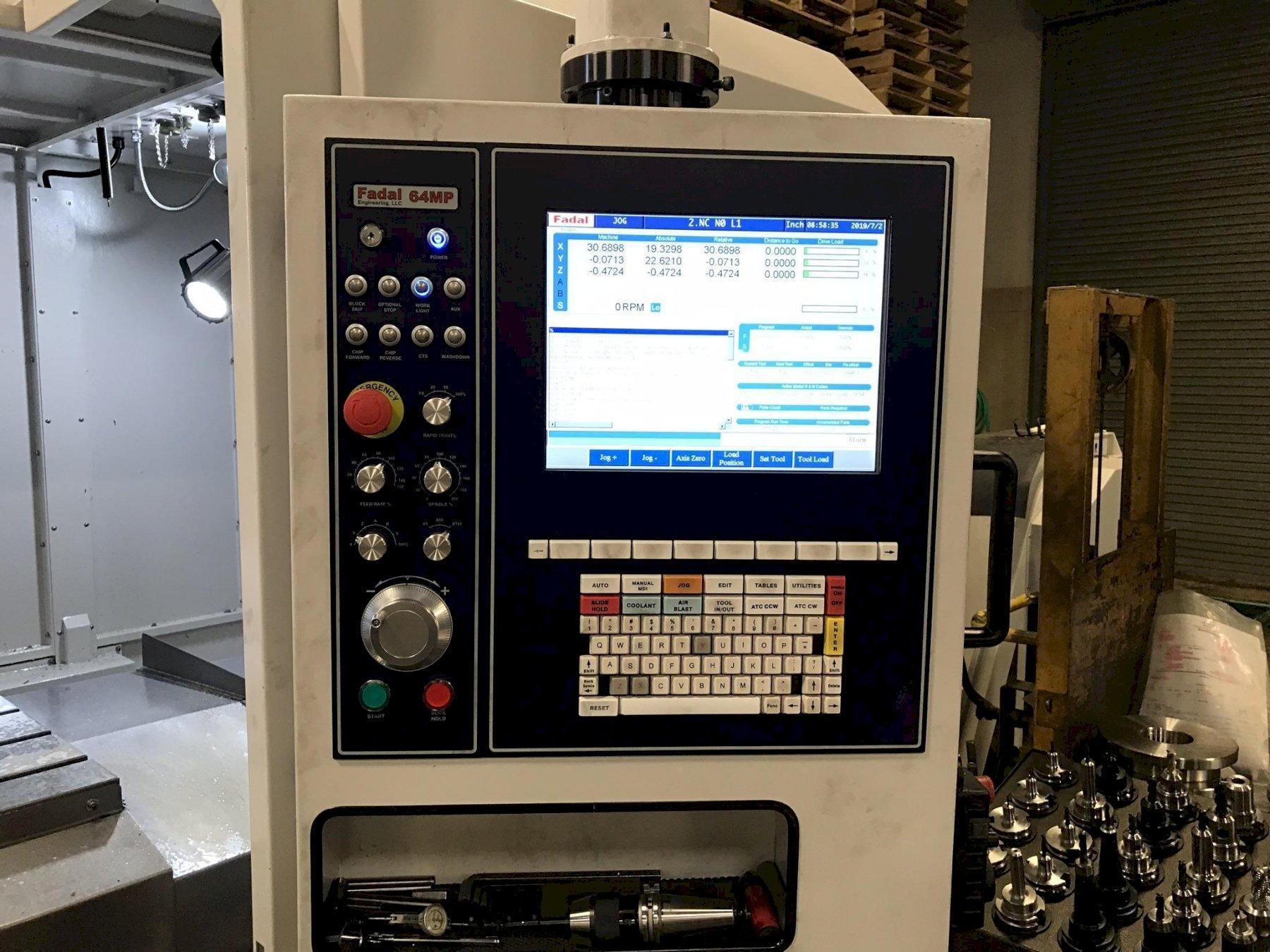 2019 FADAL VMC 6030B-II - Vertical Machining Center