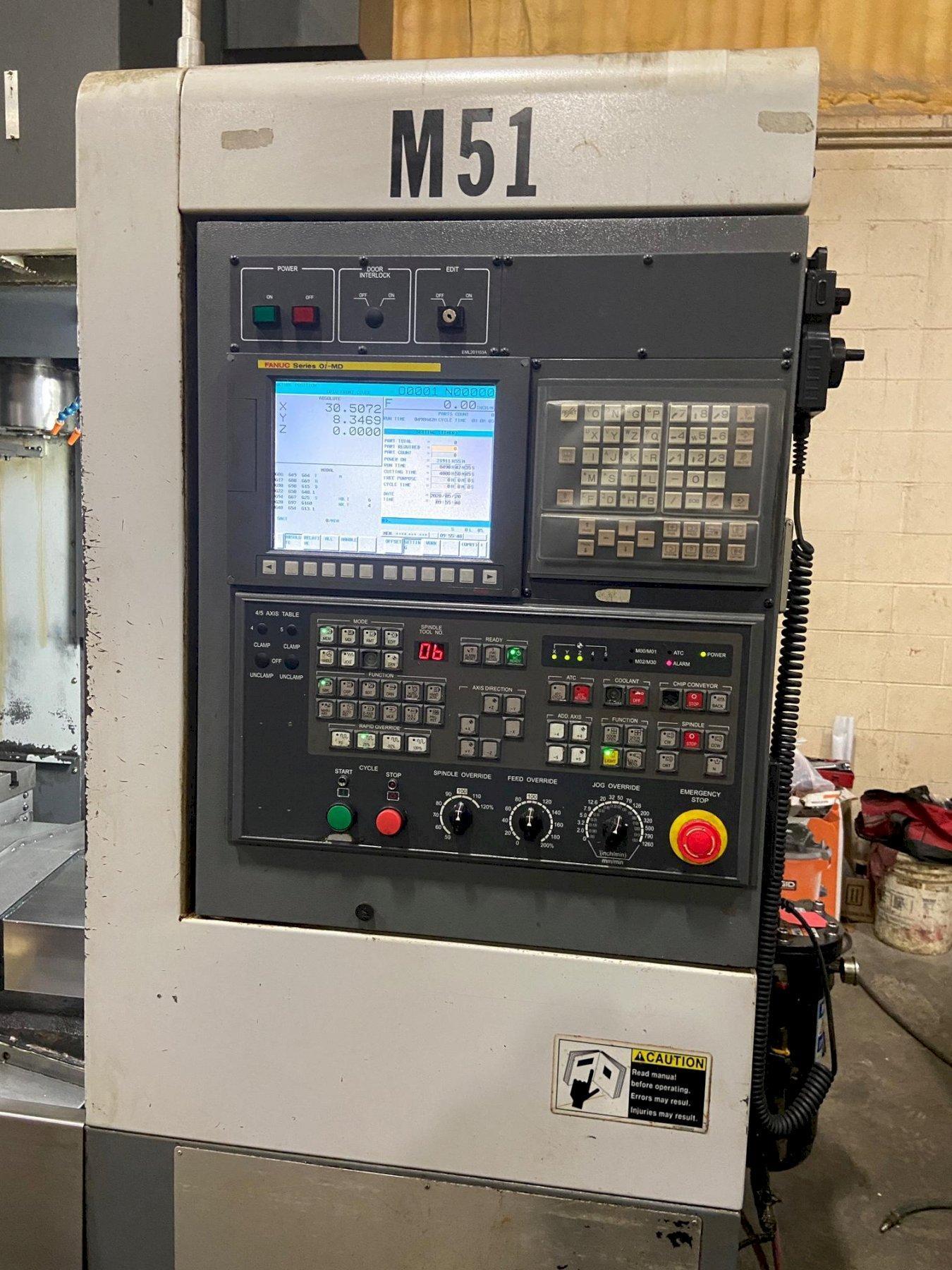 SAMSUNG MCV 50 Vertical Machining Center