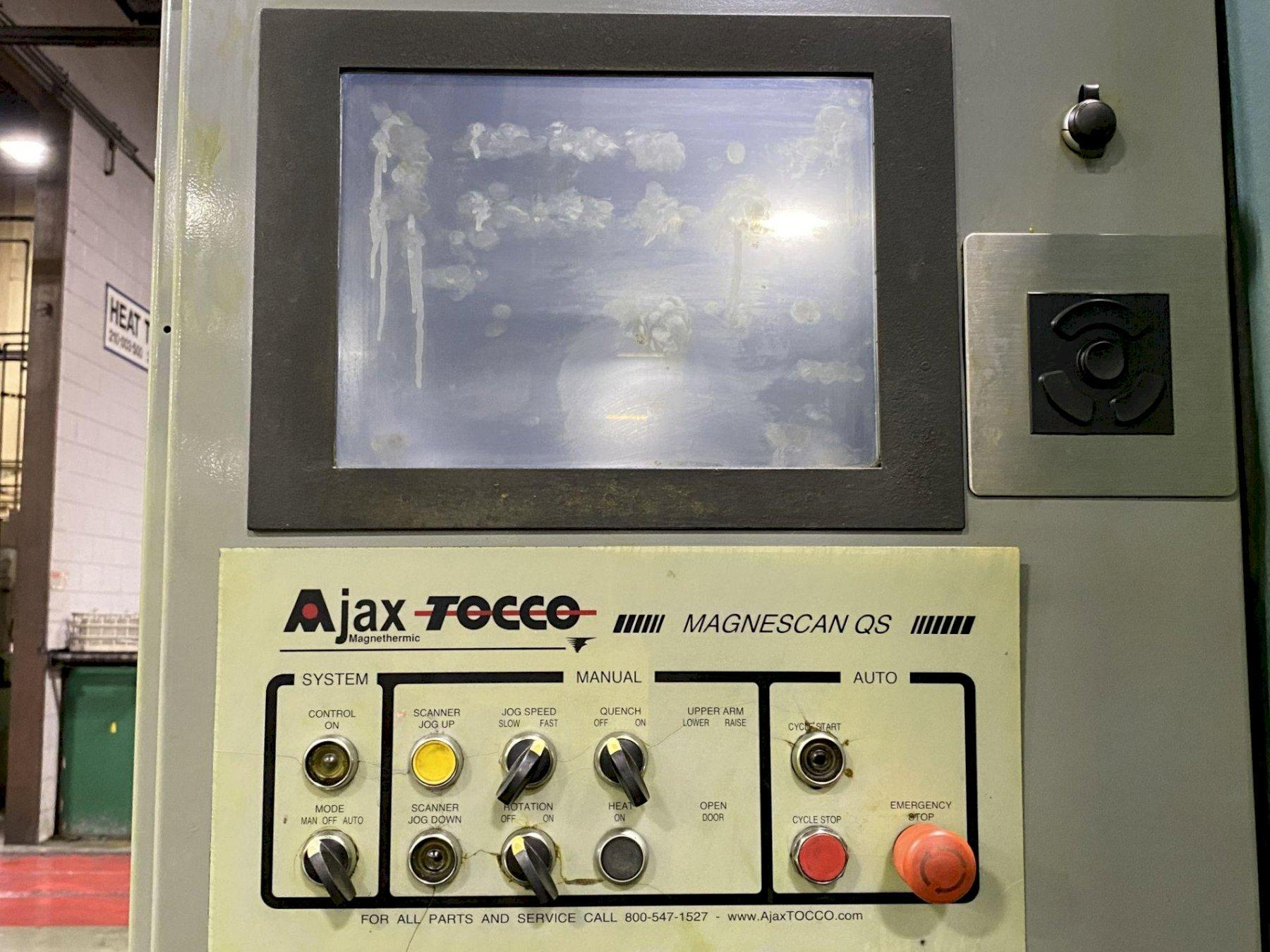 AJAX TOCCO DUAL HEAD HARNESS SCANNER WITH AJAC PACER POWER SUPPLY: STOCK #14289
