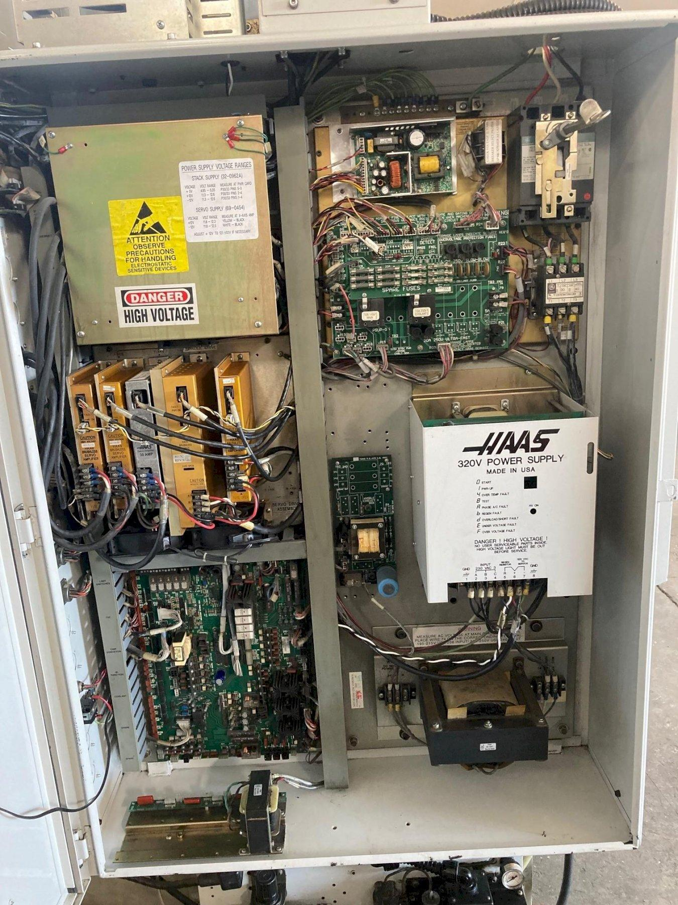 """Haas Mini Mill 2000 with: Haas Control, 16"""" x 12"""" x 10"""" Travels, 10-ATC, and Coolant Tank."""
