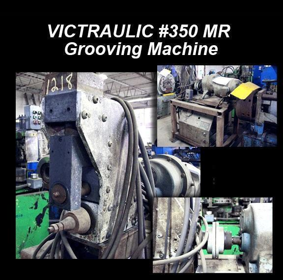 Victraulic Mod. 350 MR Grooving Machine