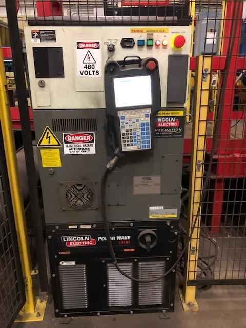 Fanuc Arcmate 120ic Robot W/ Lincoln i400 Welder