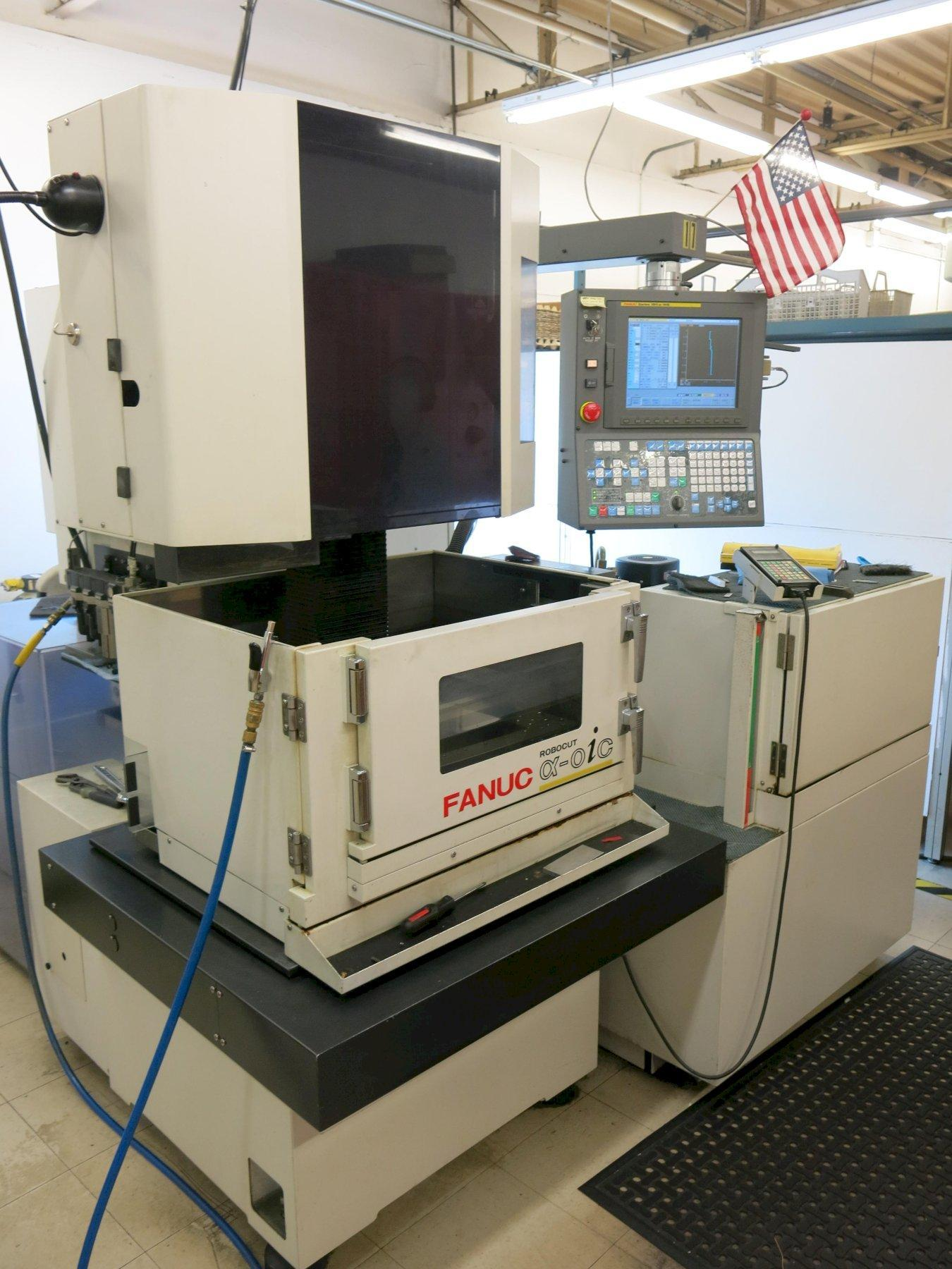 Fanuc Model Robocut Alpha-OiC CNC Wire EDM, with Fanuc 18O-iS-WB Control, New 2006