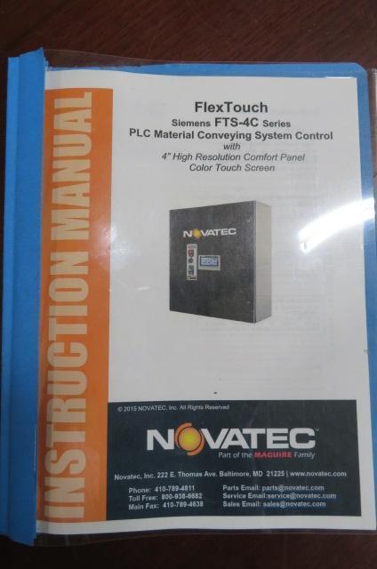 Novatec FTS-320 PLC Control System, 115V, Yr. 2016
