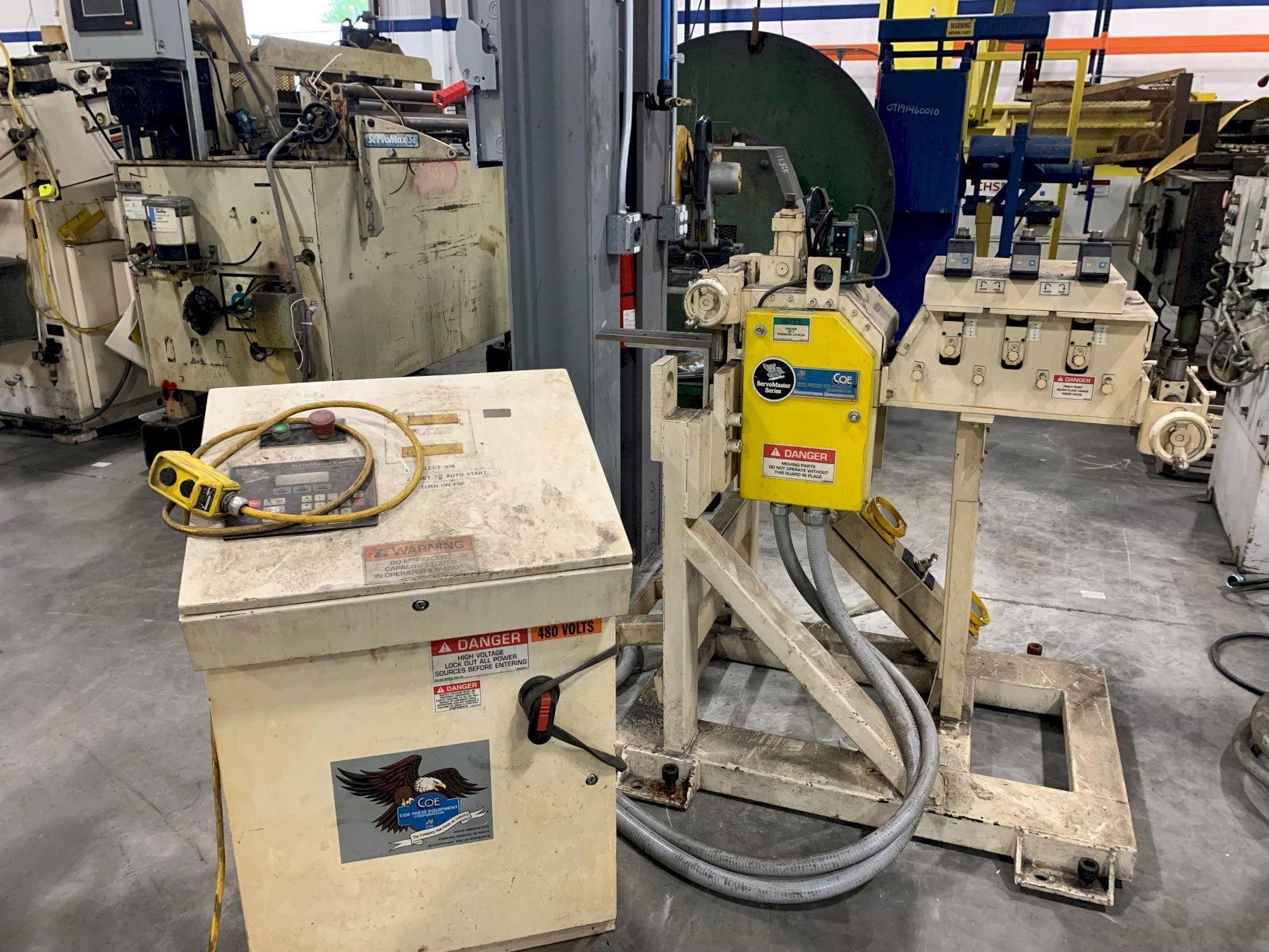 Coe Press Servo Roll Feed Straightener Combination Press Feed 06