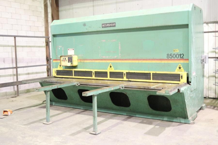 """1/2"""" x 12 ft, Accurshear Hydraulic Shear, Model 850012"""