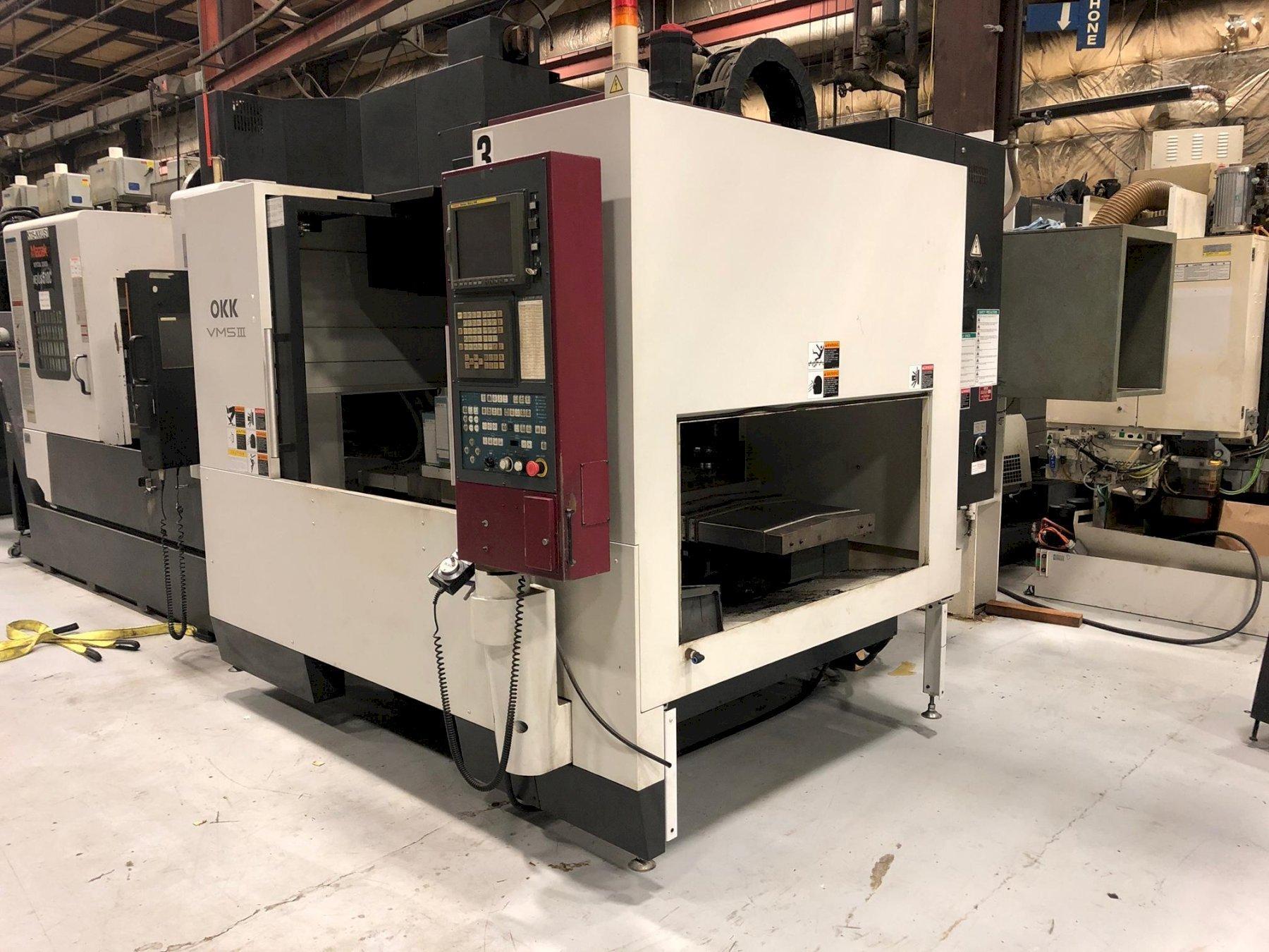 OKK VM5 III CNC Vertical Machining Center