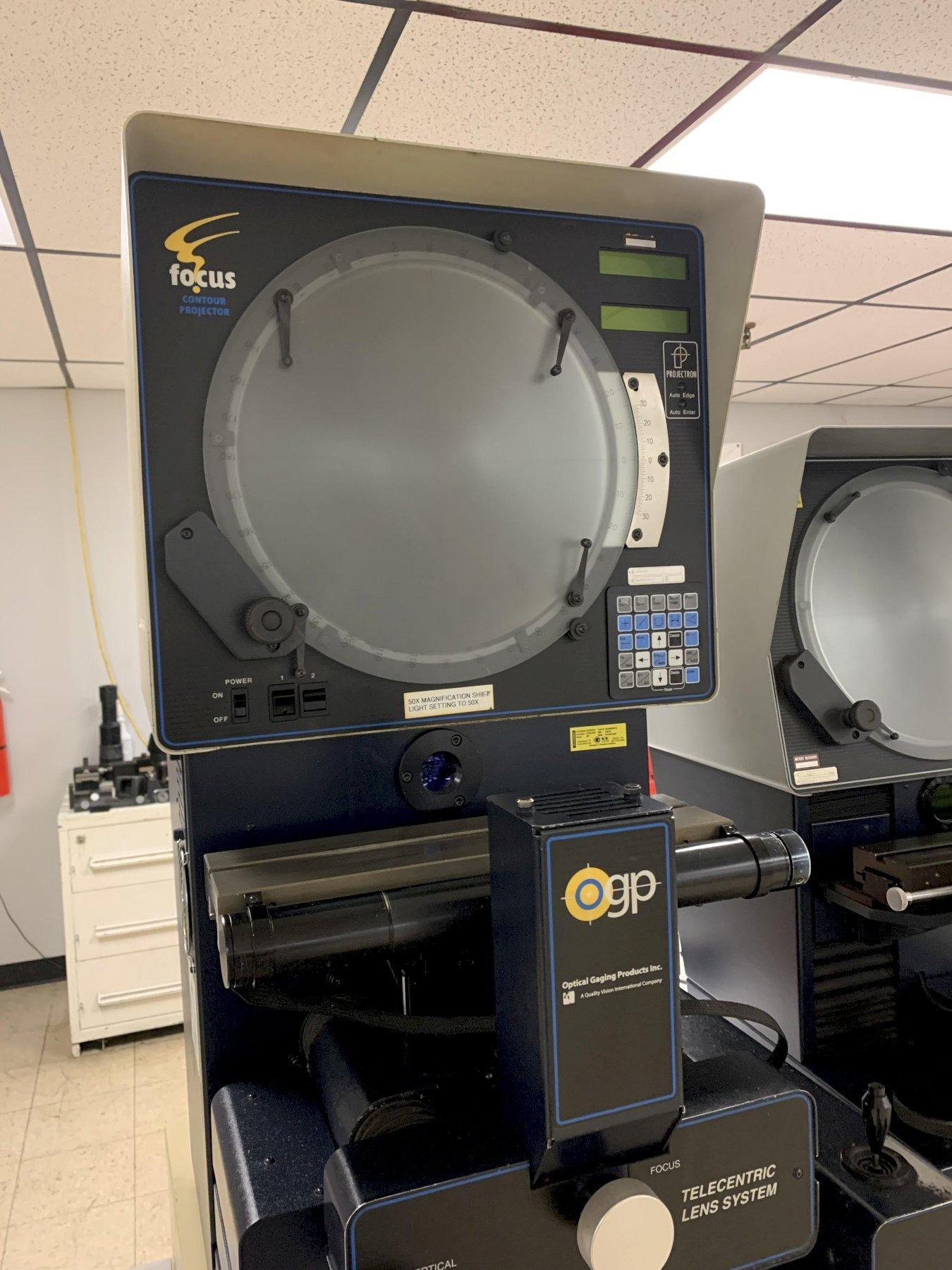 "14"" OGP ""Focus"" Bench Top Optical Comparator, S/N FC2001063"