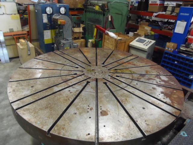 """108"""" BETTS TABLE, 20 T-SLOTS, 9"""" THICK"""
