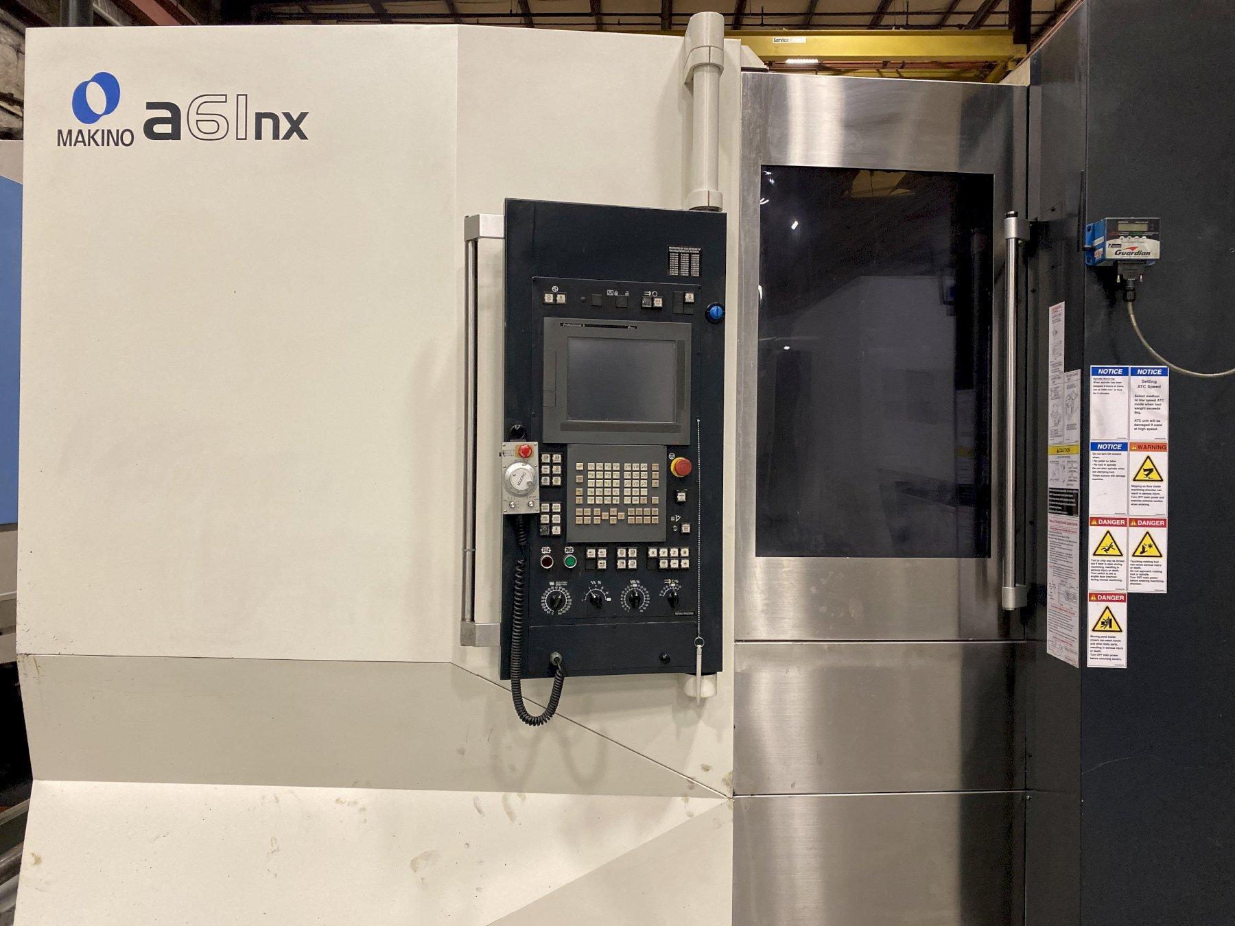 2011 Makino A61NX - CNC Horizontal Machining Center