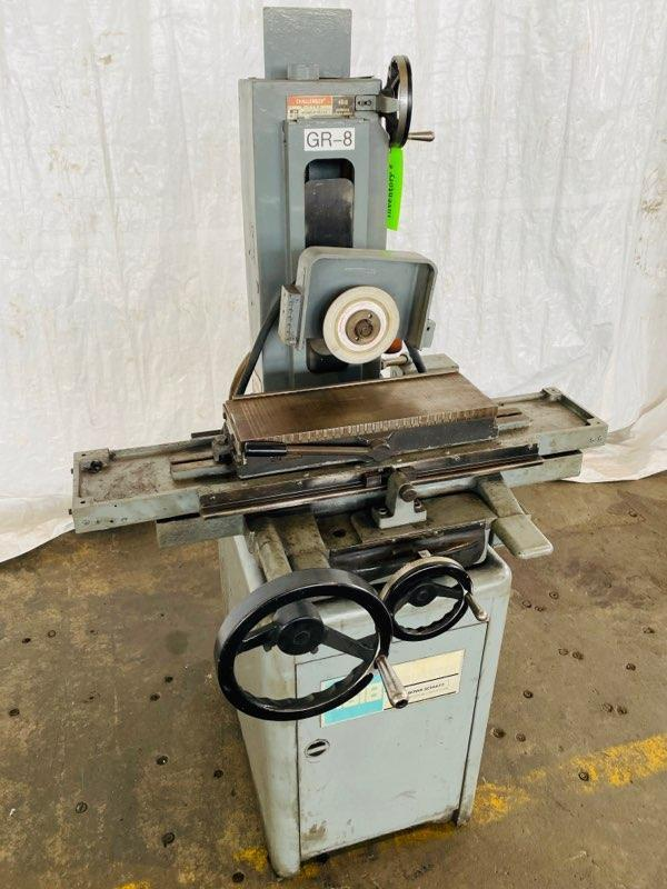 "6"" X 18"" BOYAR-SCHULTZ SURFACE GRINDER. STOCK # 0609120"
