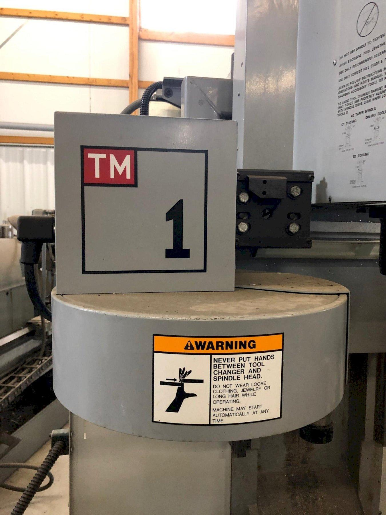 HAAS MODEL TM-1 (TOOLROOM STYLE) CNC VERTICAL MACHINING CENTER