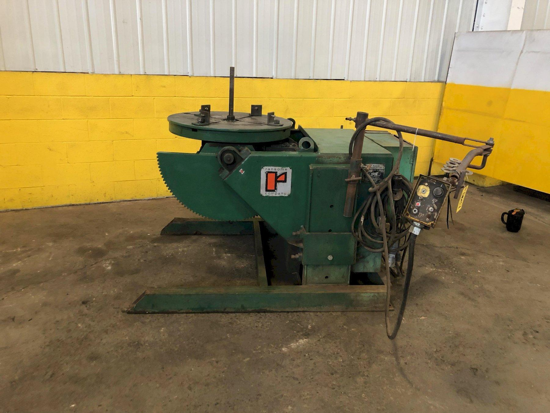 2500 LB RANSOME MODEL #25P2Y WELDING POSITIONER: STOCK #13729