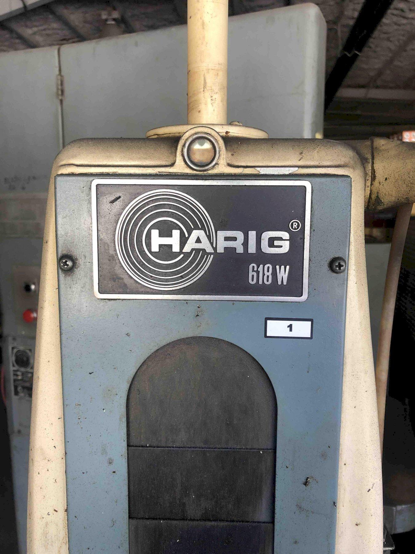 1 - PREOWNED HARIG GRINDER 618W
