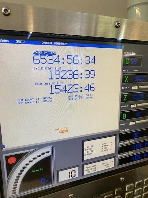 (2007) HAAS SL-10T CNC LATHE. STOCK # 0736821