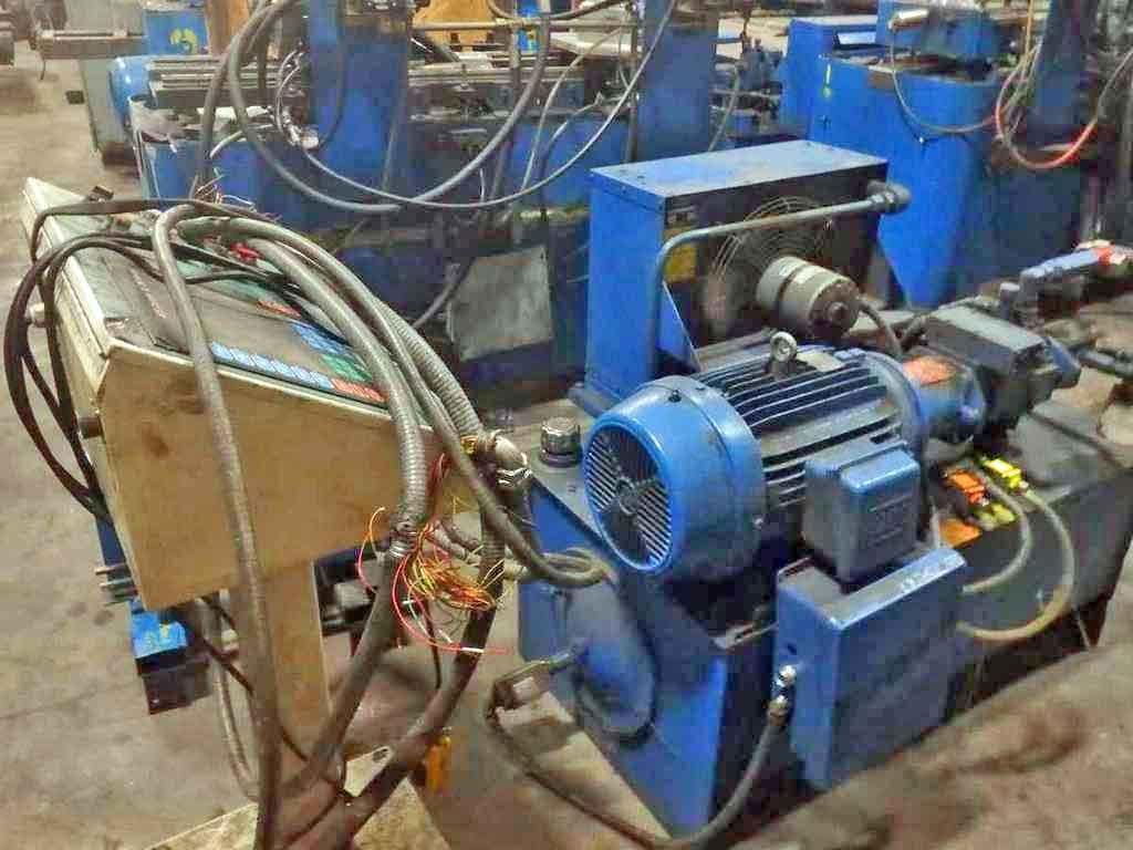 "8 Stand 12.00"" x 2.00"" Yoder Rollforming Line"