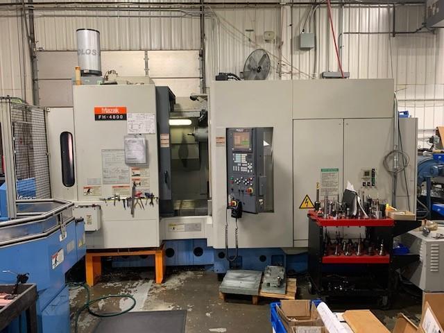 Mazak FH-4800 CNC Horizontal Machining Center w/ 6-Pallet Palletech Cell