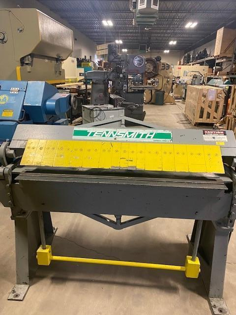 12 Ga x 4 ft., Tennsmith Box & Pan Brake Model HBU48-12