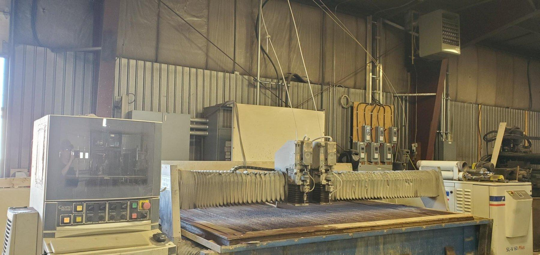 Calypso Hammerhead 5' x 10' Dual Head Waterjet, 2006, SL-V KMT Pump, 60K PSI