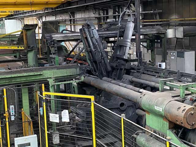 2500 TON HYDRAULIK DUISBURG WATER EXTRUSION PRESS (13843)
