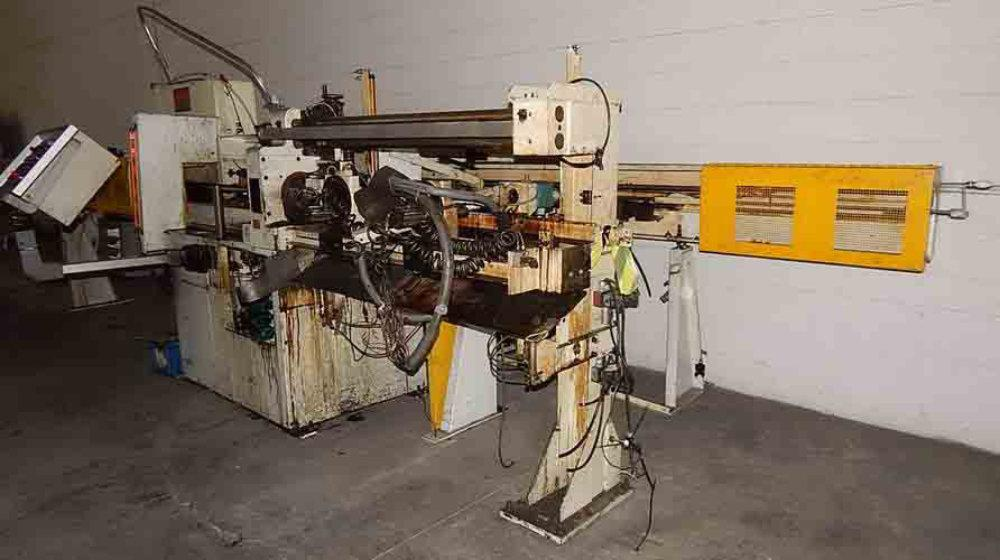 "Used VULCAN BREHM AUTOMATIC TUBE CUTOFF MACHINE, Model V275-AC-L-20-LH, 2.75"", Stock No. 10524"