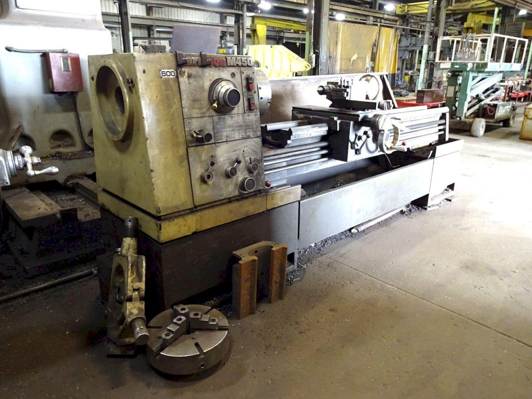 "18"" X 96"" HARRISON GAP BED ENGINE LATHE: STOCK #73720"